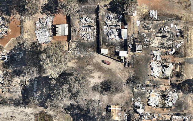 Incredible Photos Reveal Damage Of Devastating Fires In Western