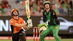 Sydney Vs Melbourne. It's Totally On In The Big Bash
