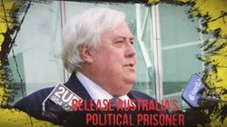Clive Palmer Claims To Be 'Political Prisoner' In Slick, Strange New