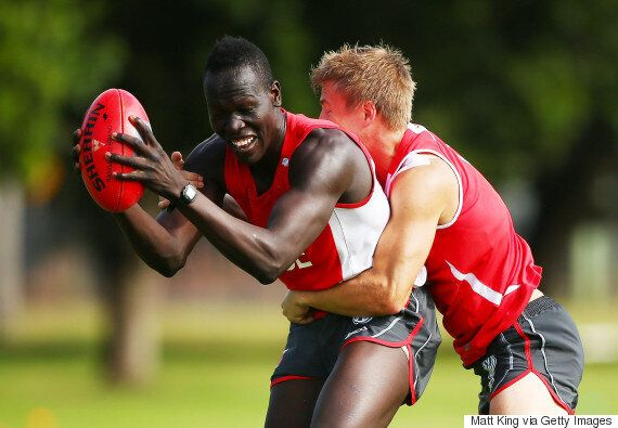 Former Refugee Aliir Aliir Will Debut For The Sydney Swans Against The Brisbane Lions This