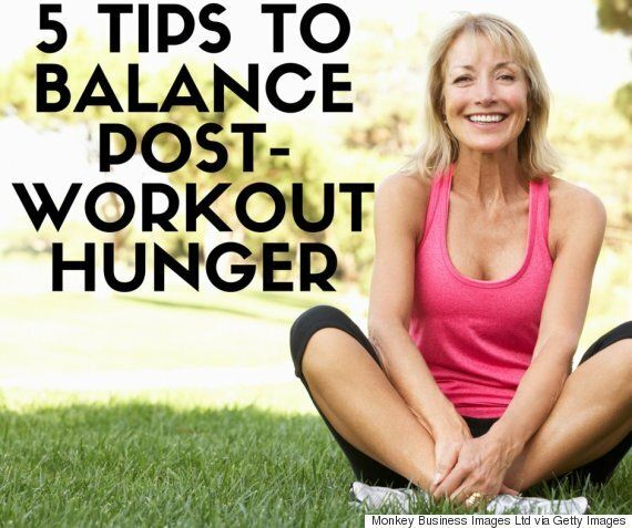 How To Balance Increased Hunger After Working