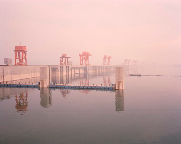 Hydropower projects have had a huge impacts on the Yangtze river. The Three Gorges dam, which stands 185 metres high and 3,035metres wide, was designed to control floods, generate power and aid navigation, but has upset the natural flow of the river.