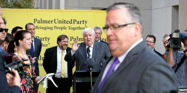 Clive Palmer, Ewen Jones Had A Shouting Match About Queensland Nickel At A Press