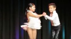 Mini Dance Duo's Incredible Salsa Skills Have Put Them On The