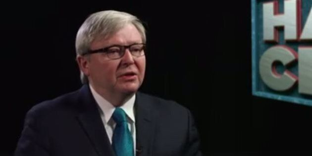 Kevin Rudd Appears On The Weekly, Talks United Nations,