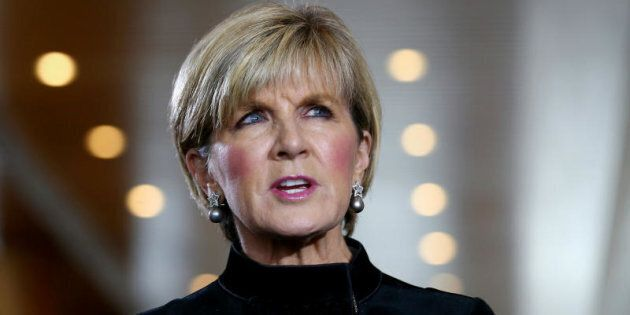 Julie Bishop on Bill