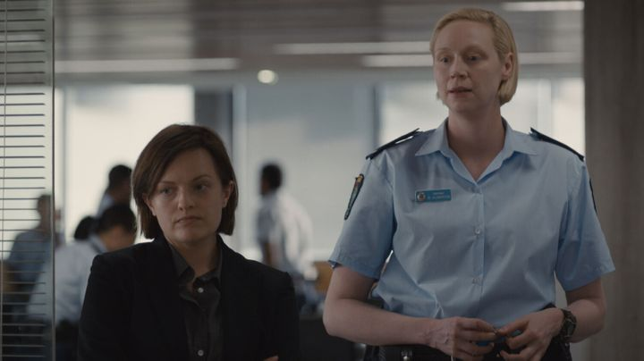 Moss and Christie in 'Top of the Lake: China Girl'.