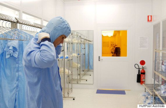 Suit Up And Step Inside The Sydney Nanoscience Hub At The University Of