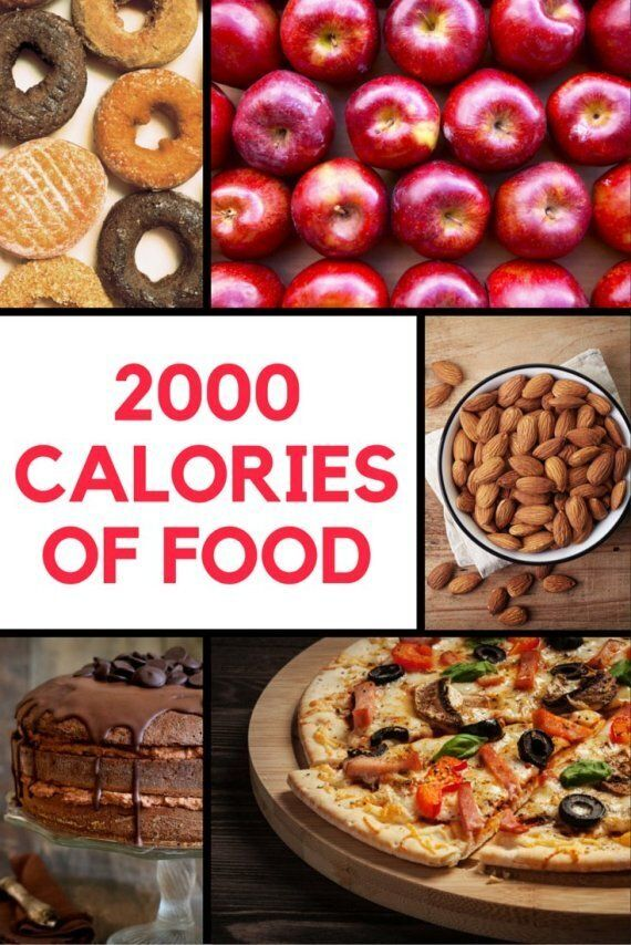 What 2000 Calories Of One Food Looks