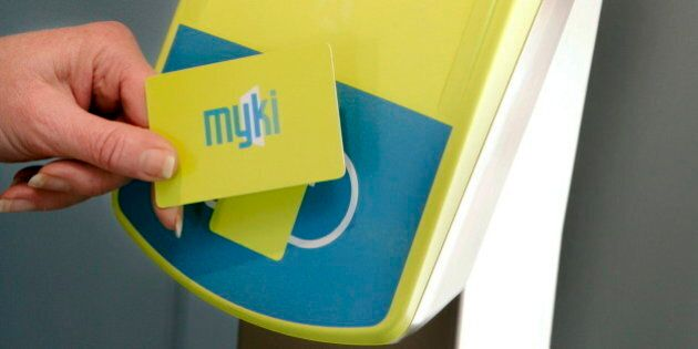 (AUSTRALIA & NEW ZEALAND OUT) New ticketing system for public transport travel in Melbourne MYKI. 7 September...