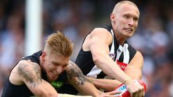Collingwood V Carlton: Blues Hold Sway, And Hold Their