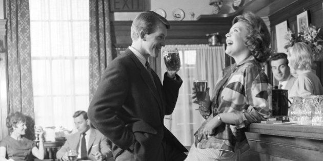 The Greyhound pub in Bromley, Kent, 31st May 1960. (Photo by Bert Hardy Advertising Archive/Getty