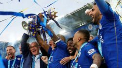 Leicester Celebrate As Team Crowned With Premier League