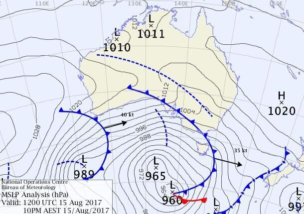 Hot Nights In Sydney, Freezing in Melbourne, Cyclone Strength