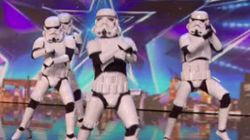 Dancing Stormtroopers Make 'Dark Lord' Simon Cowell's Dream A