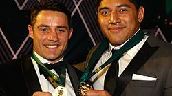 Storm Star Cooper Cronk Shares NRL Dally M Medal With Jason