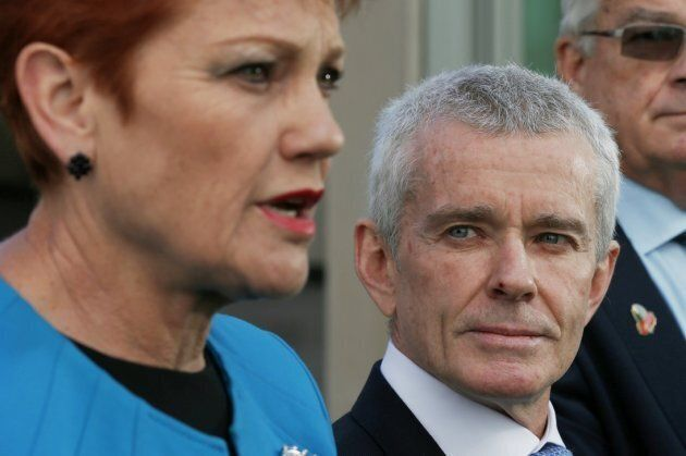 Malcolm Roberts has come under fire over his citizenship as