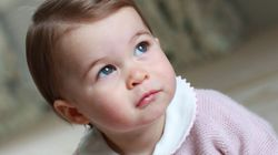 Royal Family Shares Adorable Photos Of Princess Charlotte To Mark Her First