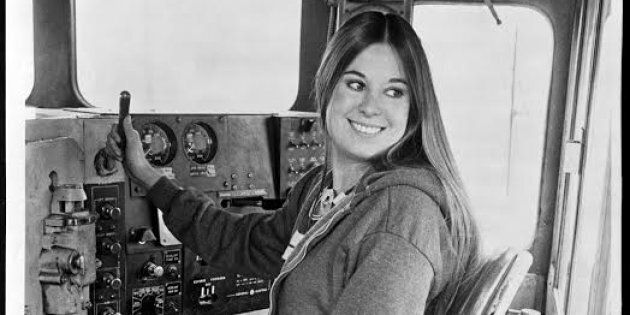 In 1976, Christine Gonzales was the first female engineer at Victorian railways. She made the 'hippie'...