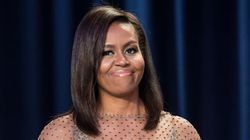 Michelle Obama Stuns In Gold Givenchy At The White House Correspondents'