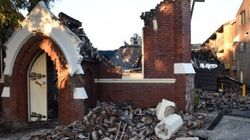 Church Fire Collapse Injures Firefighters, Leads To Mass Evacuation Of Nursing