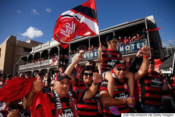 Western Sydney Wanderers Fans Accused Of Trashing 20 Adelaide Oval Seats At The A-League Grand
