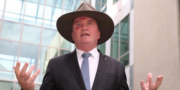 Deputy Prime Minister Barnaby Joyce says SA is too reliant on wind