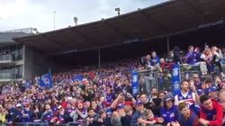 The Number Of Bulldogs Fans Who Turned Up At Training Is
