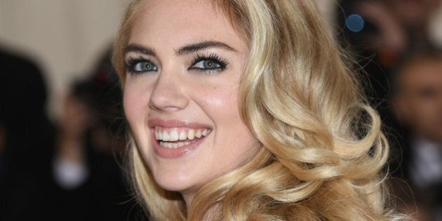 Kate Upton arrives at The Metropolitan Museum of Art Costume Institute Benefit Gala, celebrating the...