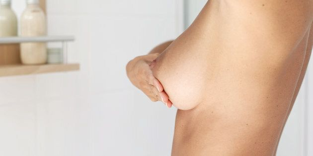 One in four Aussie women are checking their breasts monthly right now.