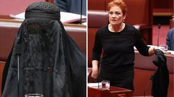 The Timing Of Pauline Hanson's Burqa Stunt Should Hardly Come As A