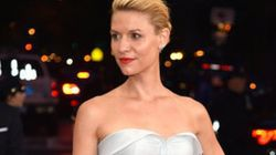You Have To See Claire Danes' Gown With The Lights