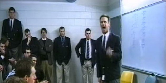 This Epic 1996 Coach Spray Is All The Motivation The Bulldogs