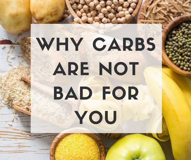 This New Study Proves That Carbs Are Not Bad For
