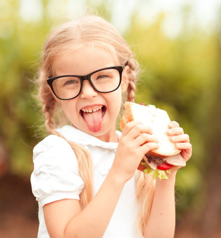 It's difficult to come up with creative ideas on an empty stomach so grab a sandwich!