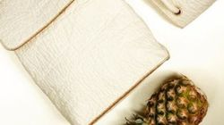 Pineapple Leather May Be The Sweet Future Of