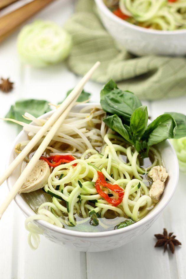 6 Low-Carb Asian Noodle