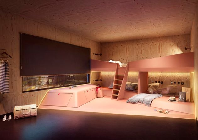 JO&JOE borrows hostel elements but with a highend