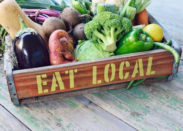 There's nothing more local than veg from your own