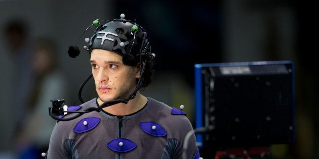 UK Actor Kit Harington being scanned for his role as a villain in the upcoming Call of Duty: Infinite
