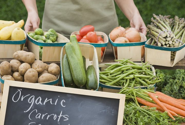 Head to your local markets for fresh produce, both organic and non-organic.