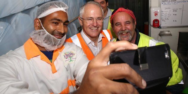 Expect a selfie-snapping Malcolm Turnbull in your marginal electorate