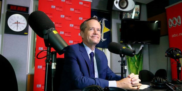 Bill Shorten on ABC radio on