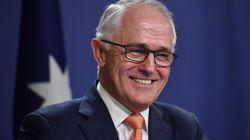 Turnbull Jokes At Grand Final