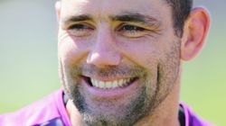 Ha! Storm Captain Cameron Smith Gets The Spray He