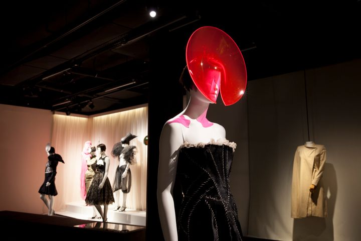 Part of the 'Isabella Blow: A Fashionable Life' exhibition.