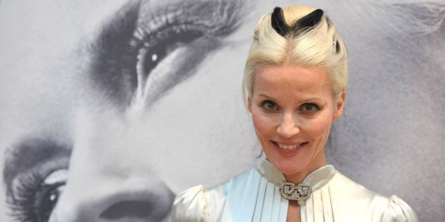 Daphne Guinness, friend of Blow and founder of the Isabella Blow Foundation Foundation.