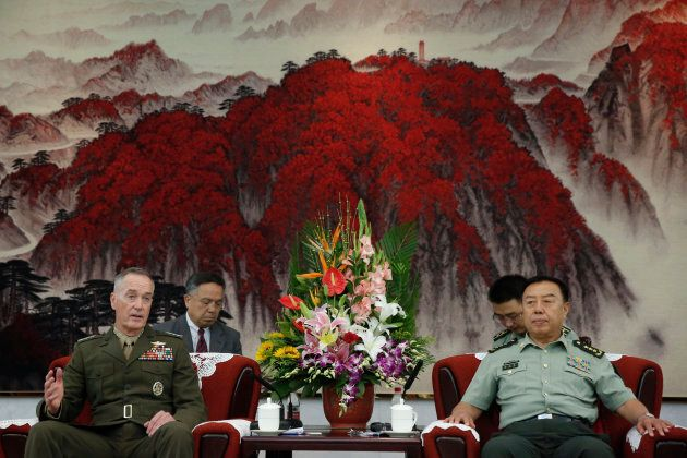 Chairman of the US Joint Chiefs of Staff, General Joseph Dunford is visiting China this week after holding...