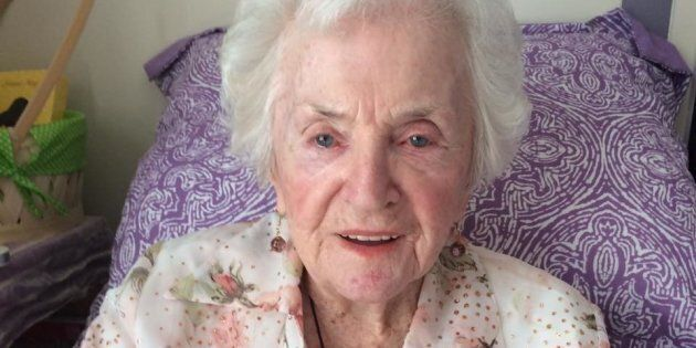 Beatrice Ingerling plans to celebrate her 100th birthday on Saturday by pole dancing