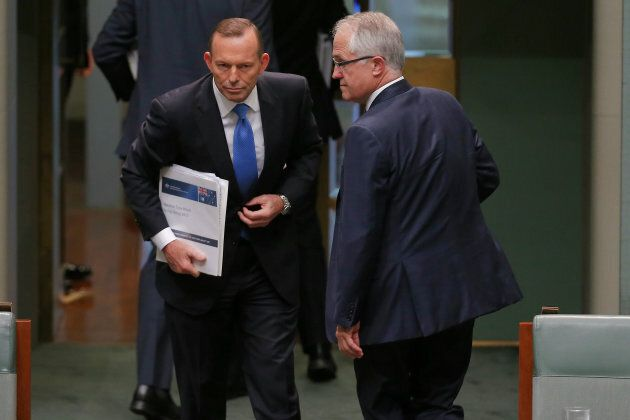 Tony Abbott has likely never forgotten this moment, the day he was knifed by